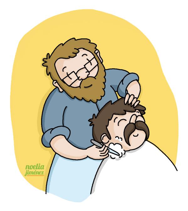 movember en la barberia