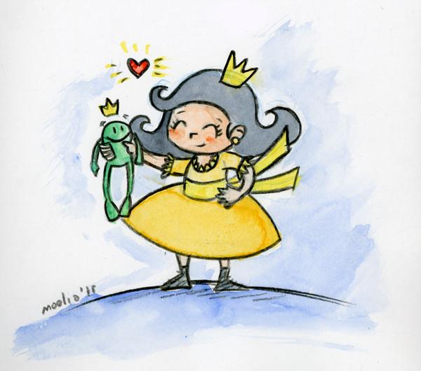 princesa y sapo