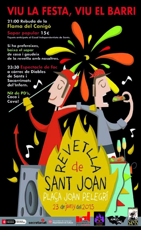 sant joan castells diables